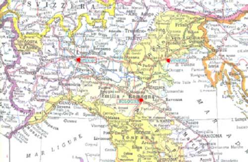 Cartina Italia Stradale Nord.Capire Il Mondo Attraverso Una Bolla